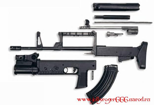Стрелковое оружие - СГК А-91М